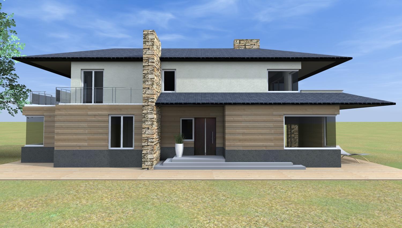 Esempi di progetti 3d di costruzione architettiamo for Progetto ville moderne nuova costruzione