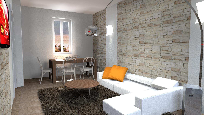Esempi di progetti 3d per arredare casa architettiamo for Taverna arredamento