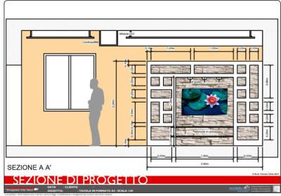 Progetto 2D Arredamento Casa