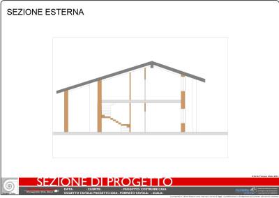 Sezione di progetto