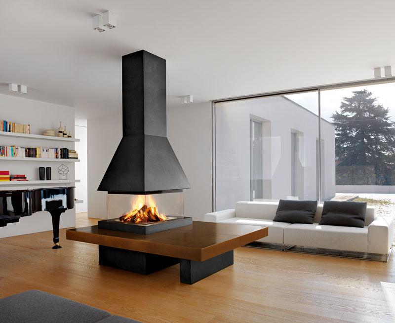 Arredare casa online idee ispirazioni consigli e progetti for Camino centro stanza