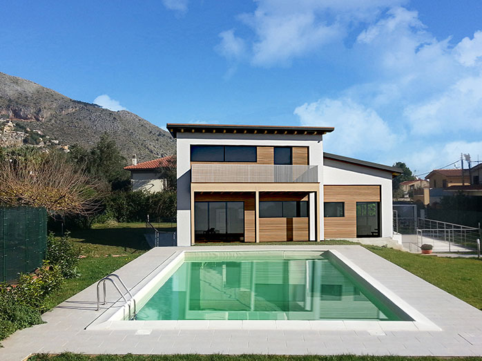 Immagini d 39 ispirazione di ville case e rustici di tutto for Casa moderna progetti