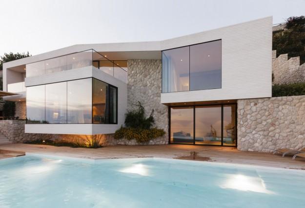 Immagini d 39 ispirazione di ville case e rustici di tutto for Design ville moderne