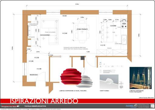 Progetto arredo appartamento