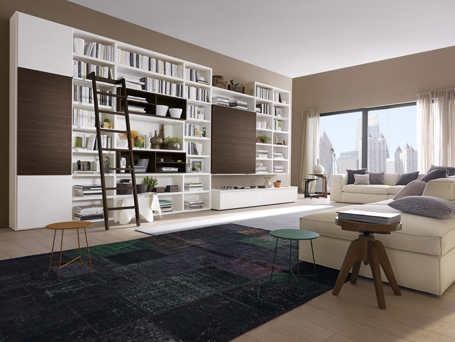 Ristrutturare casa online ristruttura con noi la tua casa for Libreria soggiorno moderno