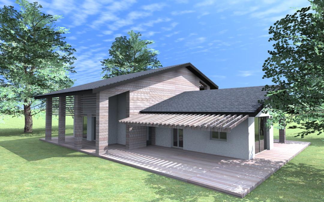 Esempi progetti nuove costruzioni for Villette moderne progetti
