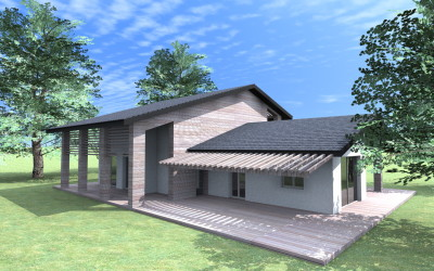 Esempi progetti on line per costruire ristrutturare arredare for Nuove case a un piano