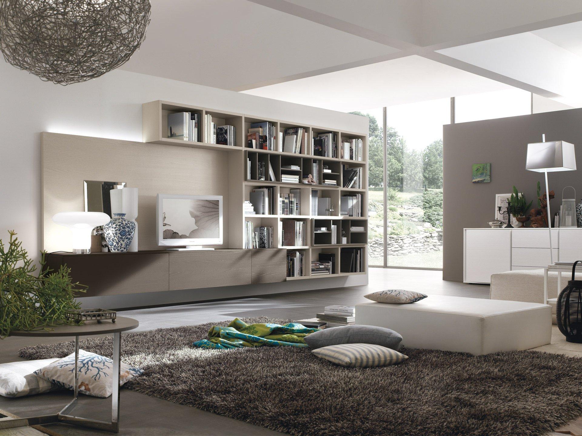Ispirazioni di cucine soggiorni e altri ambienti interni for Colori pareti soggiorno moderno