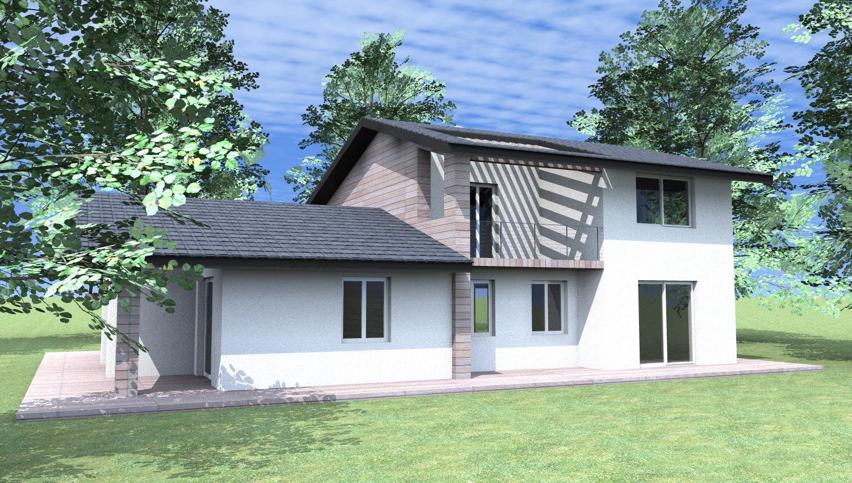 Esempi di progetti 3d di costruzione architettiamo for Progetti ville a due piani