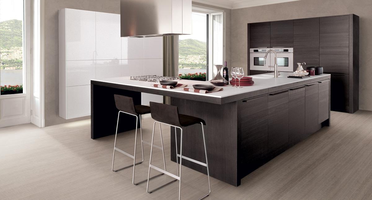 Ispirazioni di cucine soggiorni e altri ambienti interni - Cucina arredamento moderno ...