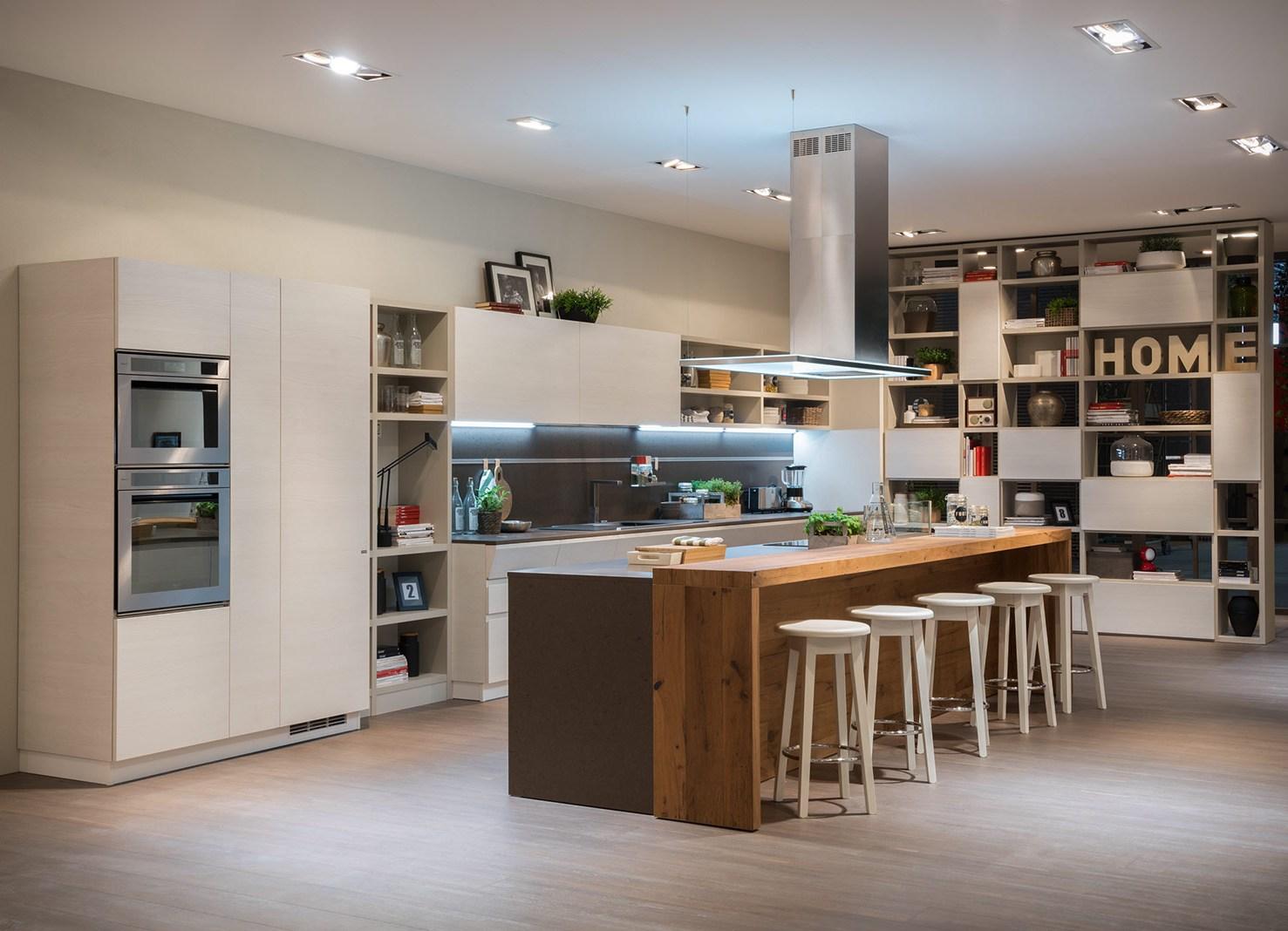 Progetti cucine angolari d cucina vista laterale with - Cucine con soggiorno ...