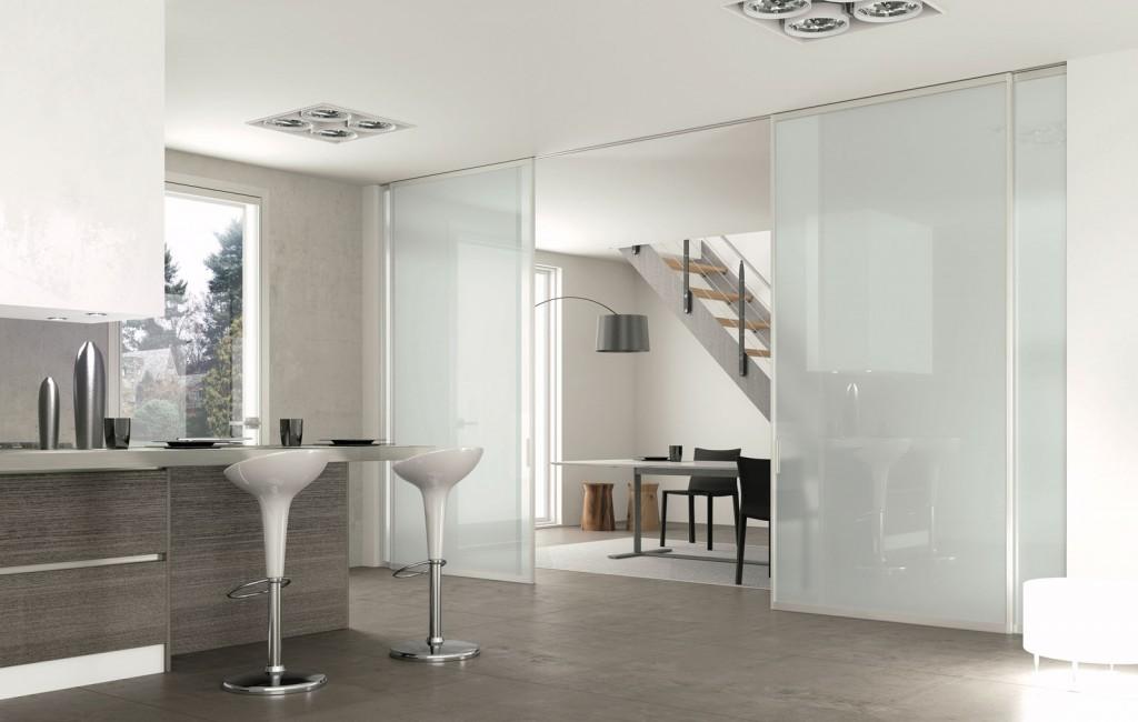 Ispirazioni di cucine soggiorni e altri ambienti interni architettiamo progetti online - Costo scrigno porta scorrevole ...
