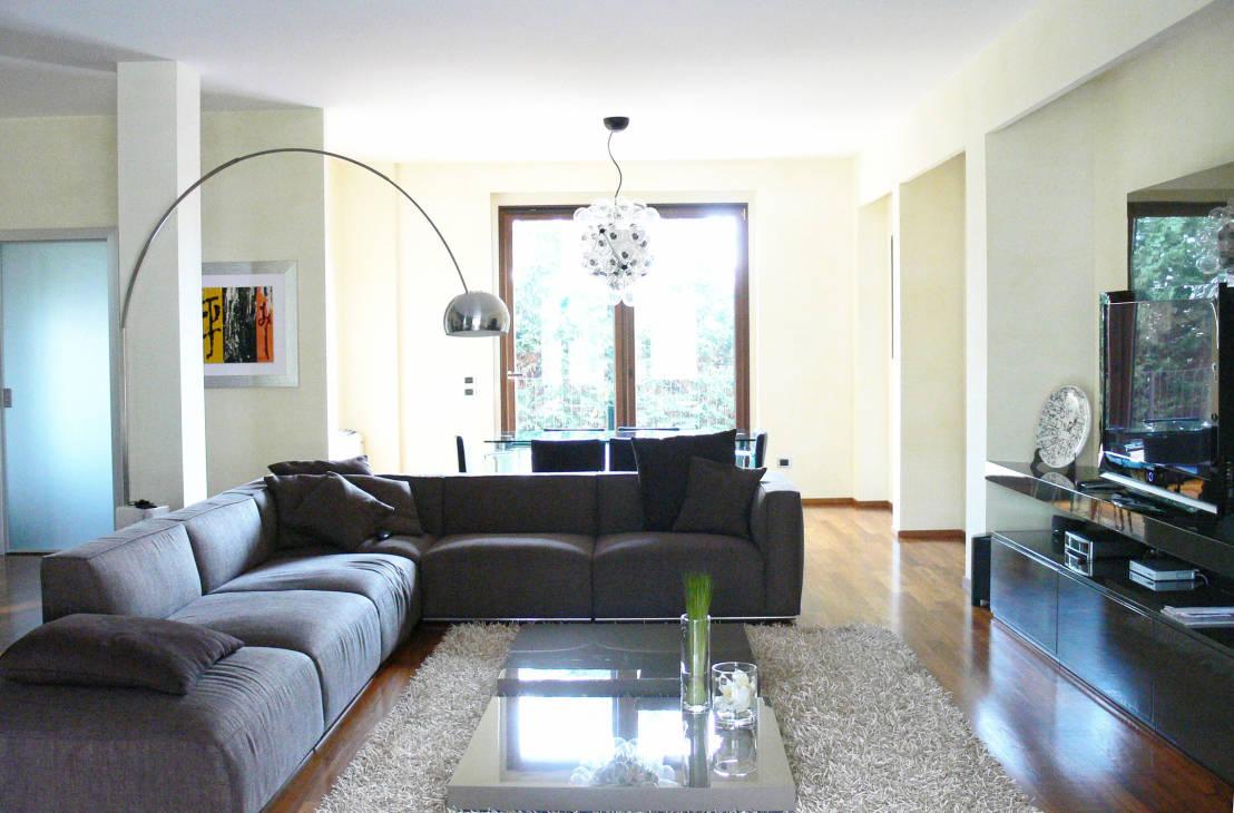 Ispirazioni di cucine soggiorni e altri ambienti interni for Soggiorno con divano
