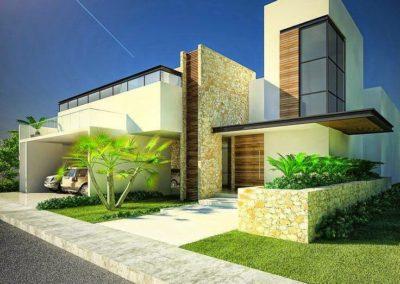 villa stile Miami