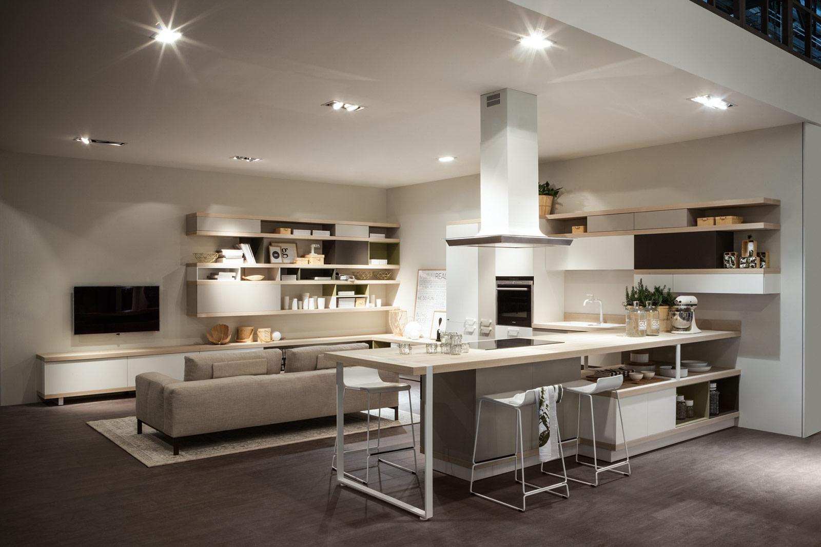 Progettare Online: Consigli Per Progettare La Ristrutturazione Di Casa #28495F 1600 1067 Come Arredare Un Ambiente Unico Cucina Soggiorno