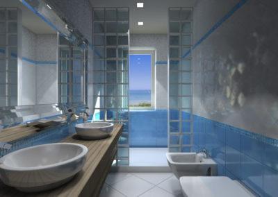 rendering-bagno