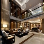 sfruttare le garandi altezze con soppalchi vista soggiorno