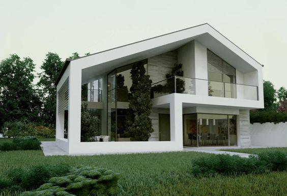 Soggiorni moderni trova l 39 ispirazione per il tuo soggiorno for Piani casa tetto a capanna