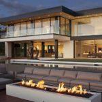 una casa moderna che è la perfezione degli stili e dei gusti