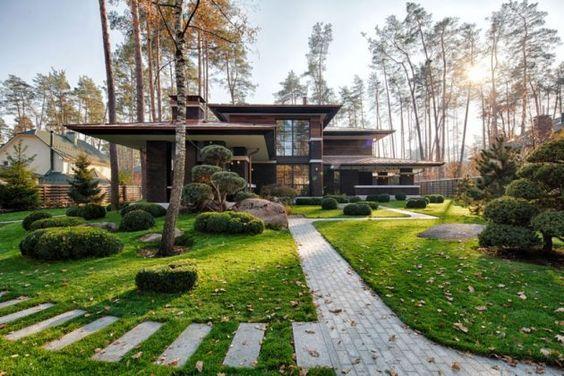 Case moderne come realizzare la propria casa dei sogni for Log e piani di casa in pietra