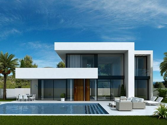Case moderne idee ispirazioni progetti for Progetti di interni case moderne