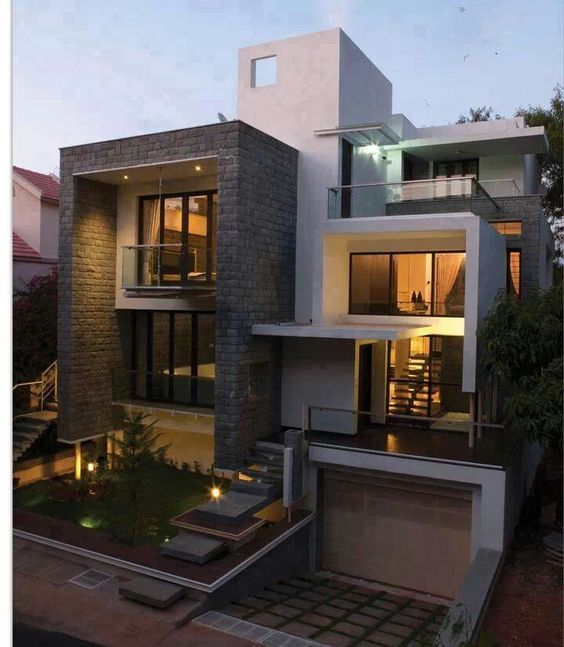 Case Moderne in pietra