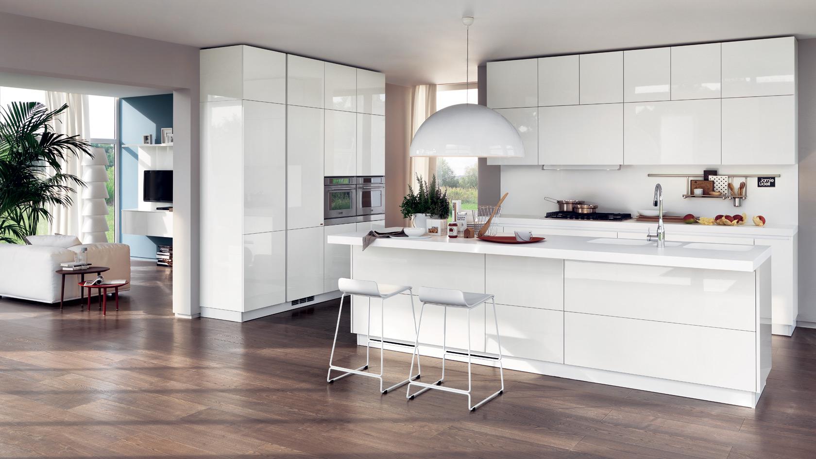 Idee Per Cucine Piccole Ad Angolo. Idee Cucina Moderna Ad ...