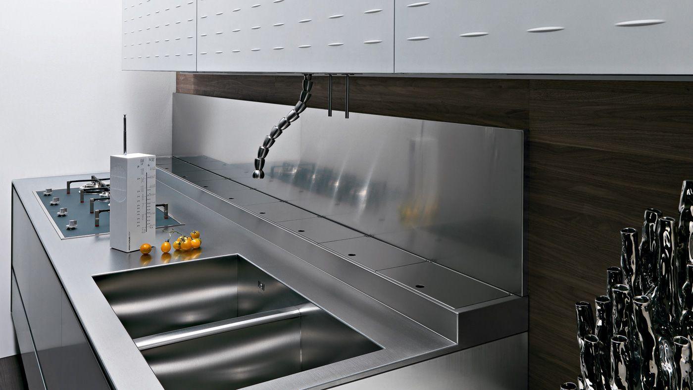 Cucine moderne come scegliere quella giusta per te e le tue abitudini - Canale attrezzato valcucine ...