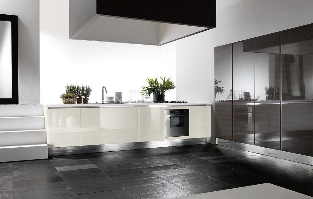 Cucine moderne dai stile e importanza alla tua casa - Cucina color panna ...