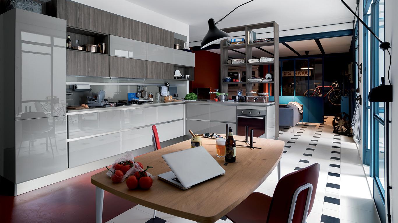 Cucine Moderne Con Camino. Beautiful Cucina Onia Cucina Cristina ...