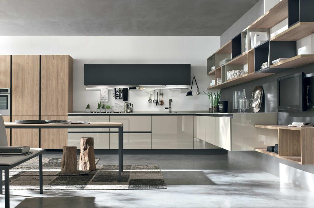 Cucine moderne come scegliere quella giusta per te e le for Isola cucina moderna