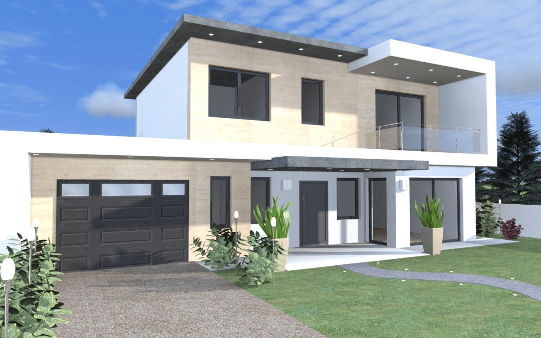 Costruire archivi architettiamo progetti online for Progetti di case moderne a un solo piano