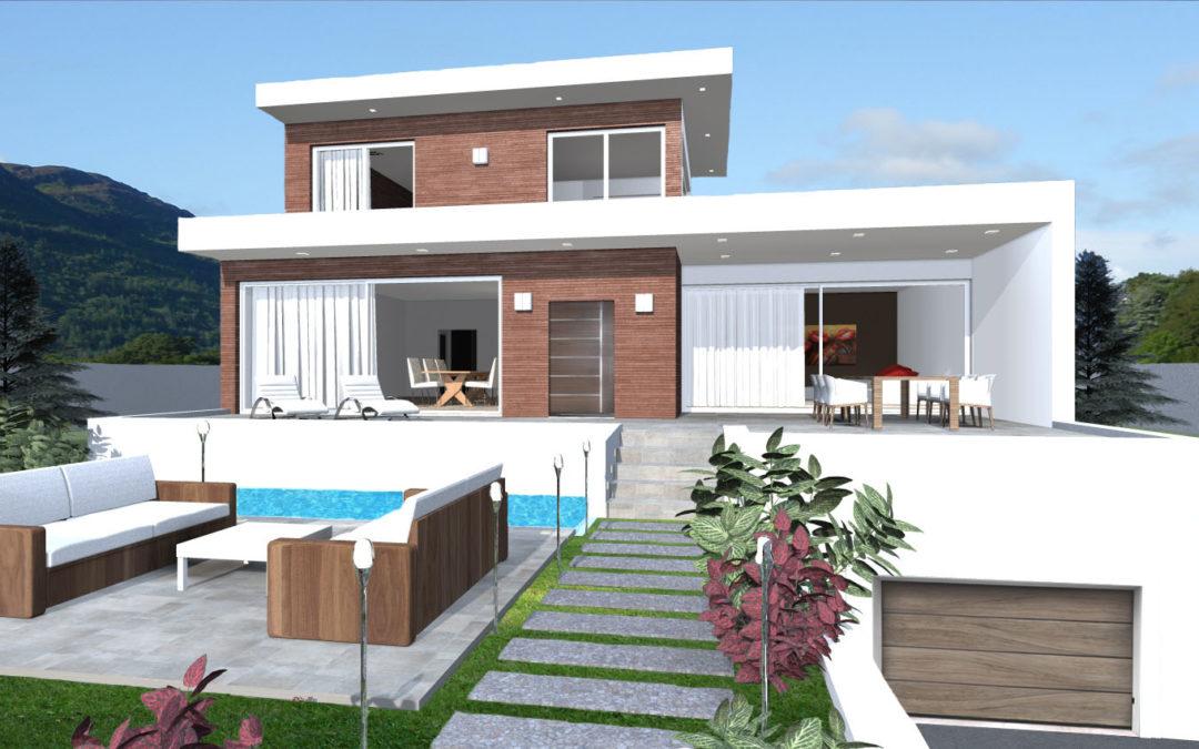 Costruire archivi architettiamo progetti online for Moderni disegni di case a due piani