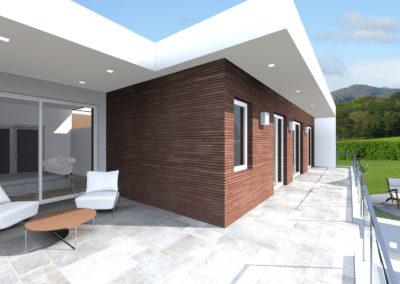 casa moderna guiardino