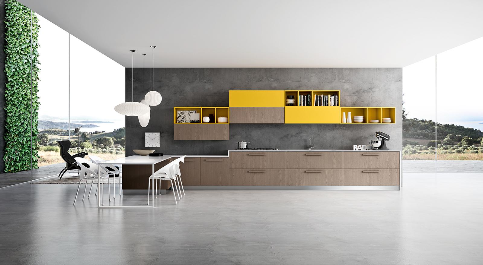 Binario Pensili Cucina Ikea appartamento in toscana: esempio progetto arredo online