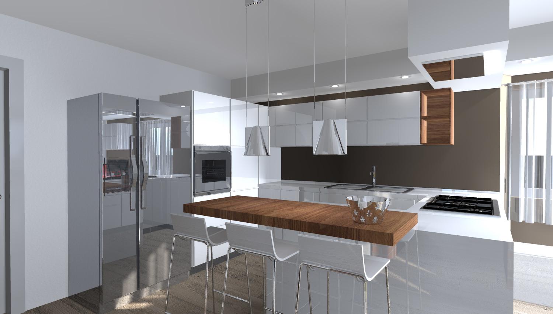 cucina con un tocco moderno