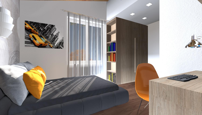 Ccamera da letto di design